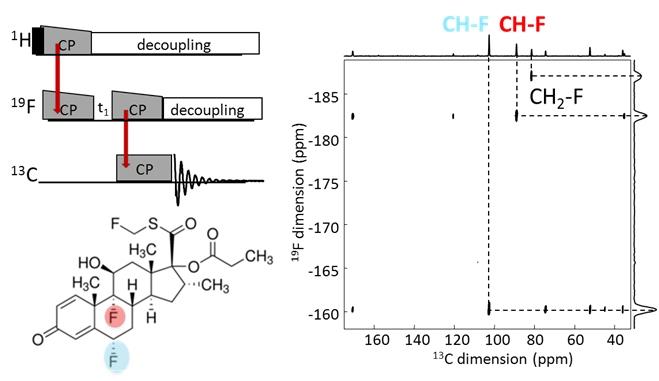RMN-double CP cascade