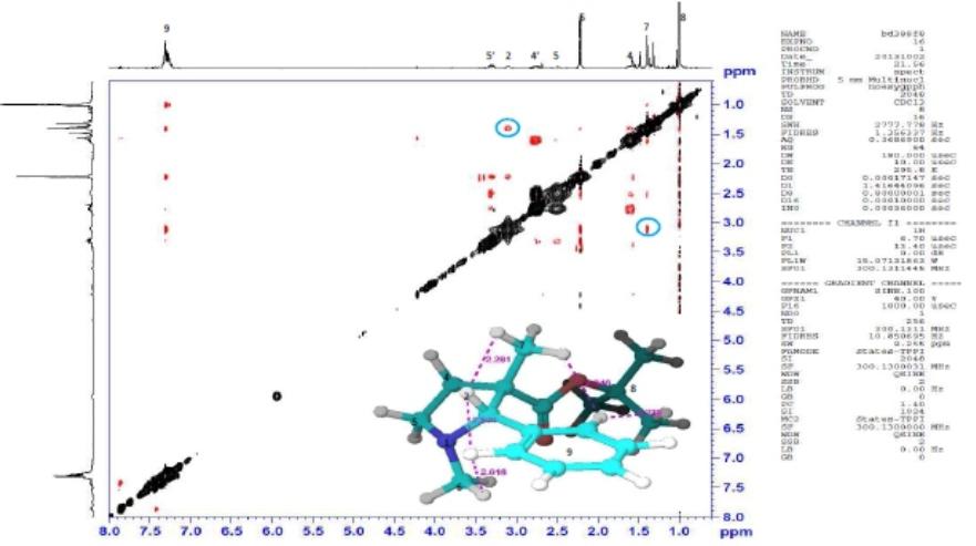 RMN-Structure azetidinium 2